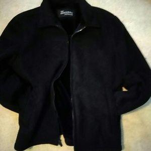Black Suede Jacket by Docker's Premium